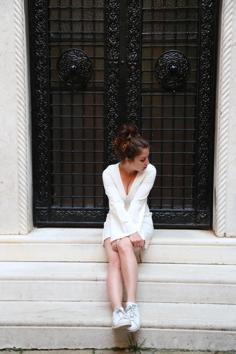 Robe blanche été